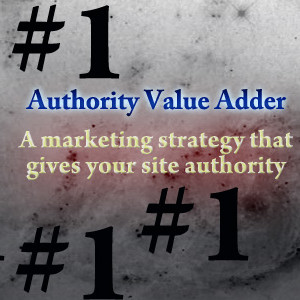 Authority value adder screen