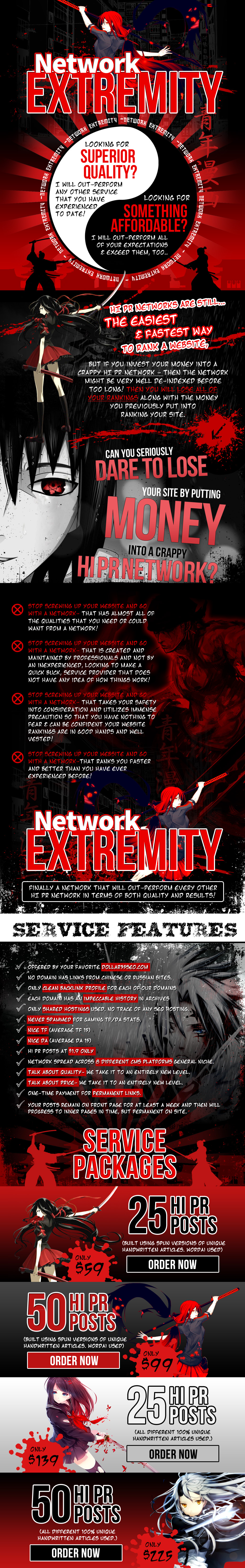 Network Extremity Thread Design New PSD